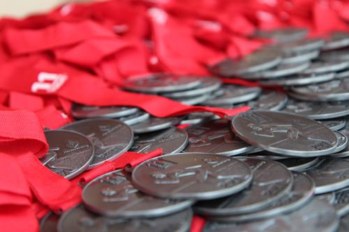 Medailles 11strandentocht