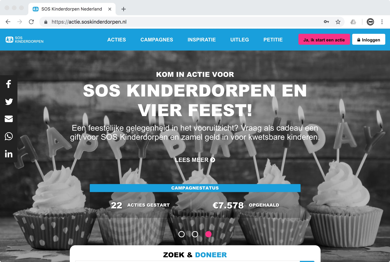 Actieplatform SOS Kinderdorpen